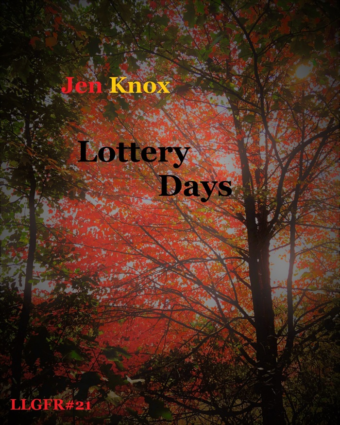 Jen Knox, Lottery Days, front cover.jpg